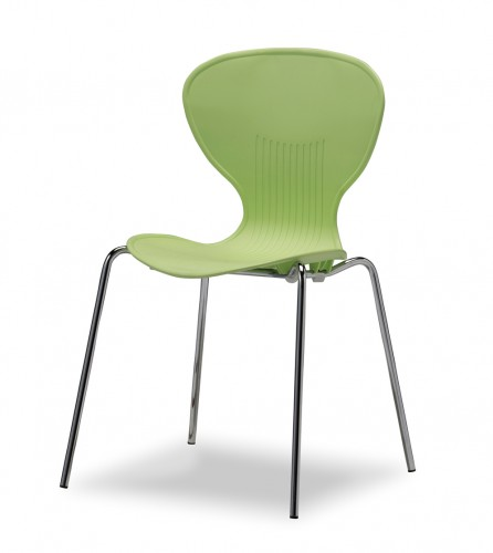 パイプ椅子 シンディー グリーン