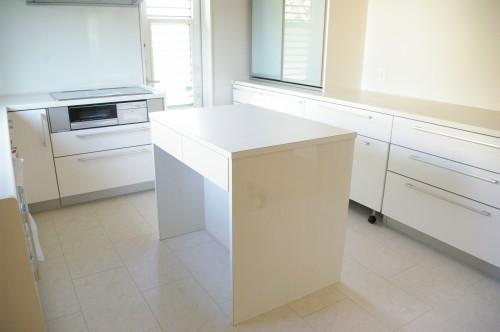 キッチン ワークテーブル