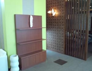 美容室展示什器飾り棚