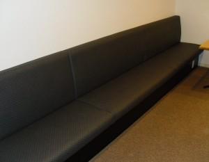 壁面ベンチ椅子