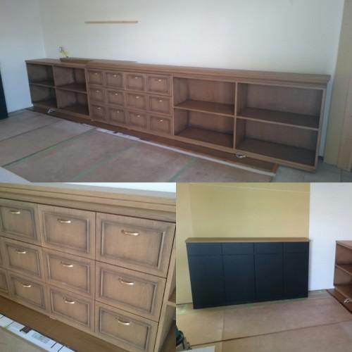 アンティーク塗装の家具