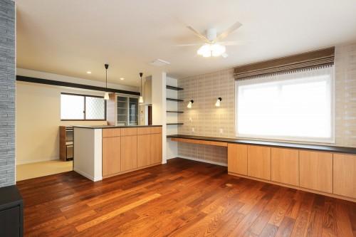 キッチン、リビング収納