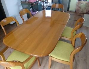 テーブル塗装